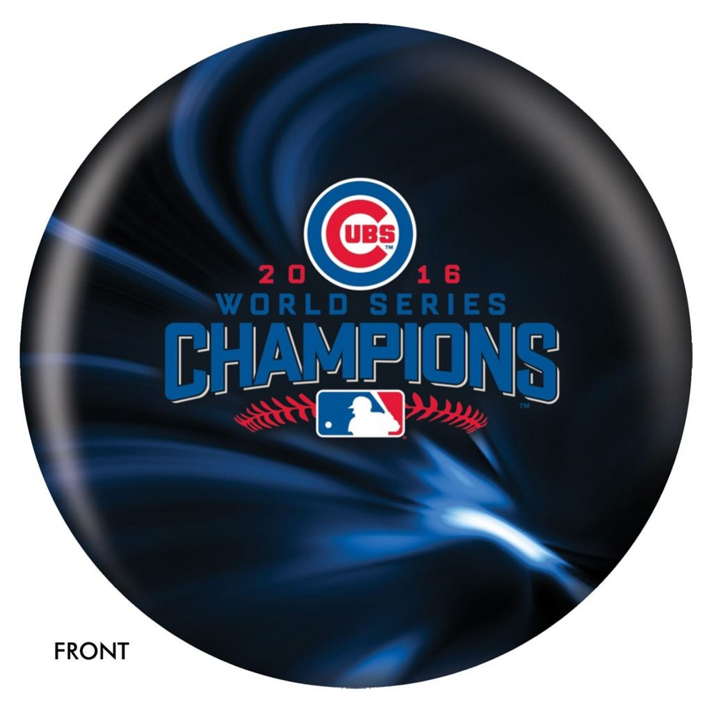 Cubs Bowling Ball